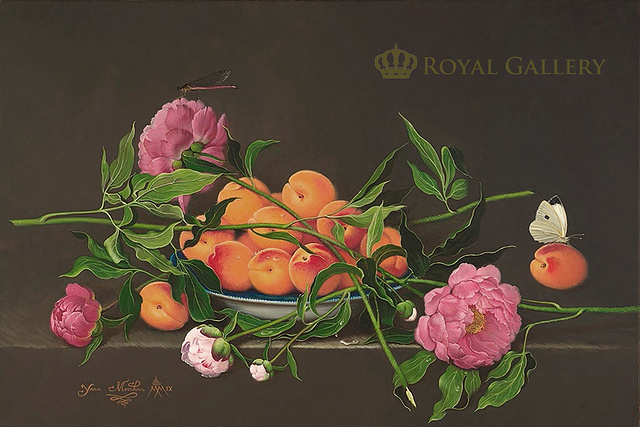 """APRICOTS AND PEONIES"""